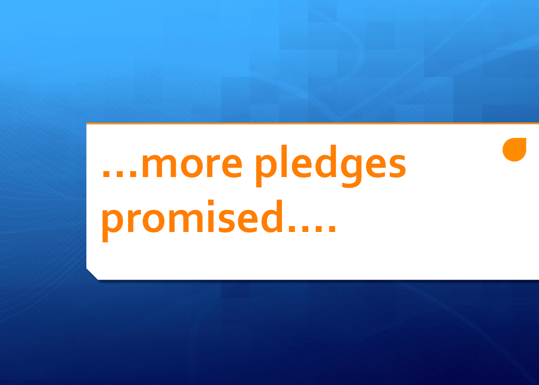 More promised