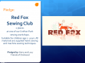 Redfox sewing